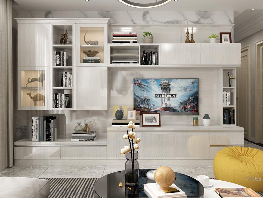 北美风格客厅类柜 (119)